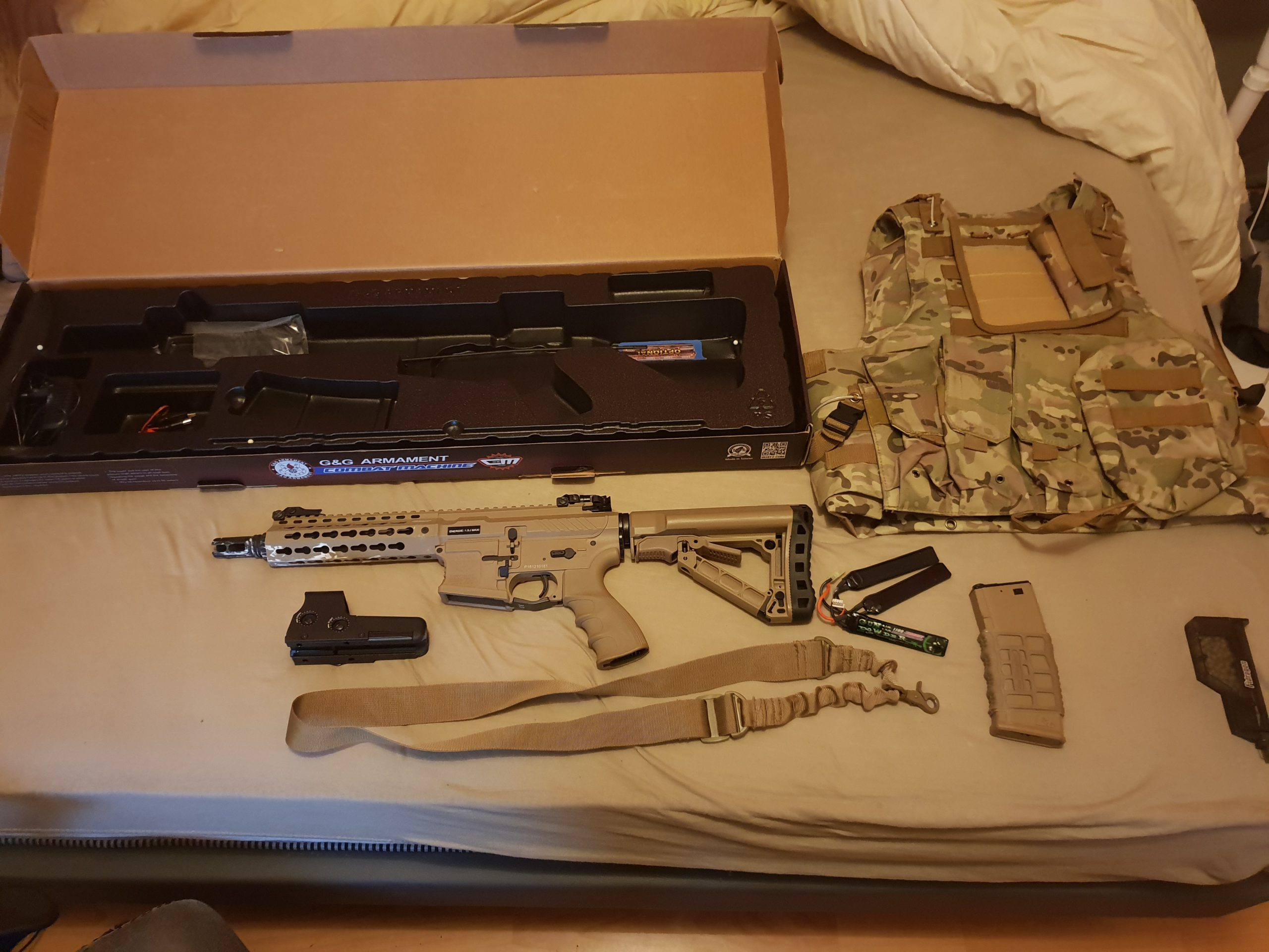 Pack complet pour airsoft