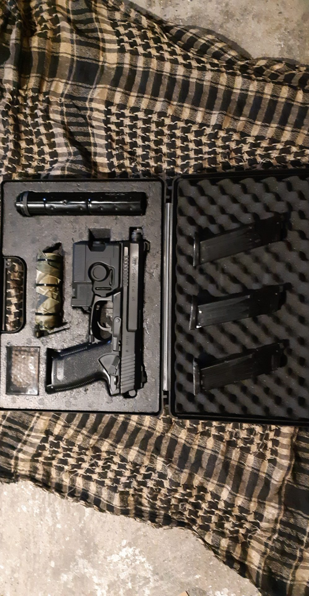 Mk23 marui 3 chargeurs upgrader