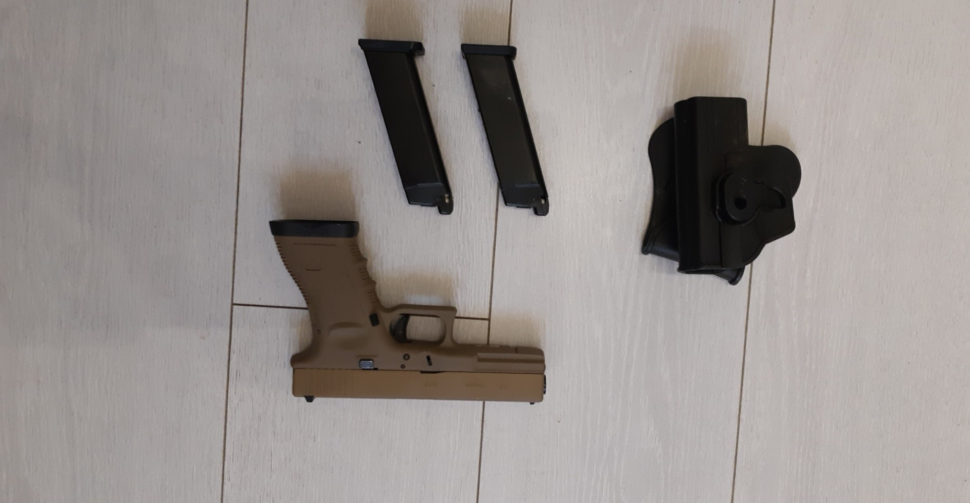 Glock we holster 2 chargeurs